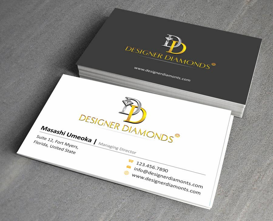 #6 for Design some Stationery for a Jewelery Company (Letterhead/Envelope/Business Card) by ezesol