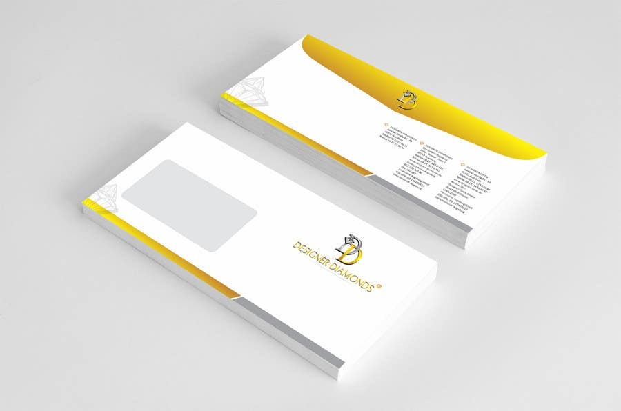 #13 for Design some Stationery for a Jewelery Company (Letterhead/Envelope/Business Card) by ezesol