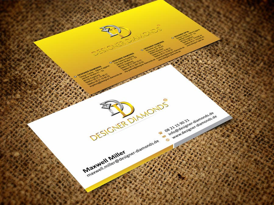 #19 for Design some Stationery for a Jewelery Company (Letterhead/Envelope/Business Card) by ezesol
