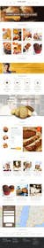 #9 untuk Design a Website Mockup for a bakery oleh WeakyRock