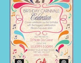 #14 untuk Birthday Carnivale Celebration oleh amcgabeykoon