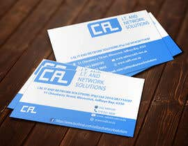 #5 untuk Business card design – logo and info supplied oleh lipiakhatun586
