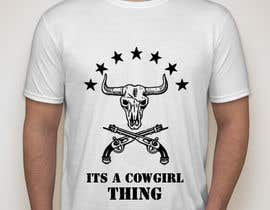 #28 untuk Design a T-Shirt for Cowgirl Grunge design oleh KaimShaw