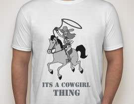 KaimShaw tarafından Design a T-Shirt for Cowgirl Grunge design için no 29