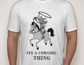 #29 untuk Design a T-Shirt for Cowgirl Grunge design oleh KaimShaw