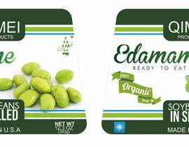#14 untuk Design a package for ready to eat edamame or mukimame oleh DesignWorldwideC