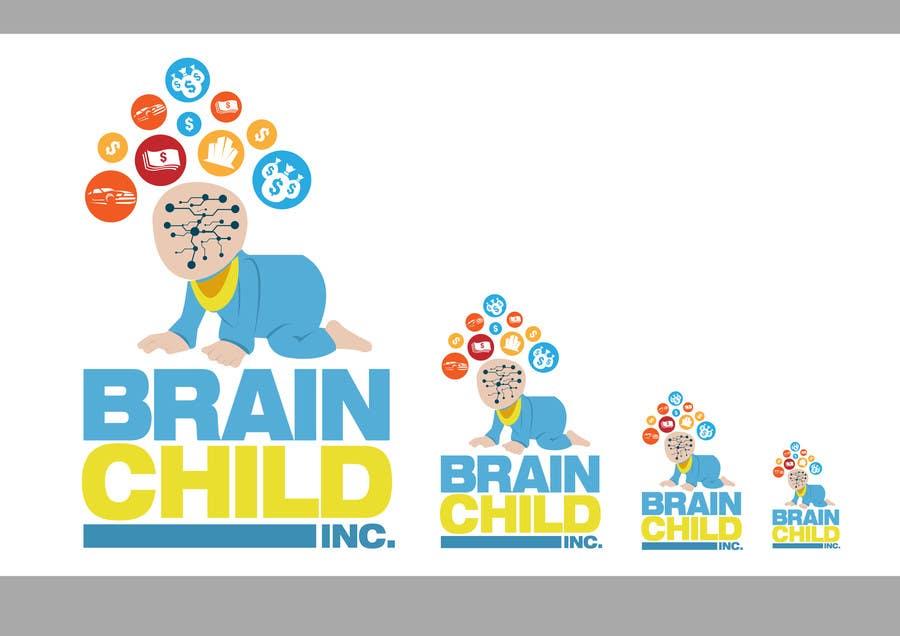 #38 for Brain Child Inc logo by xcerlow