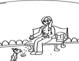 #4 untuk Drawing for Chef feeding Pigeons oleh giselarodrigues