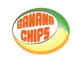#57 untuk Logo for Banana Chips brand oleh sgmetlive