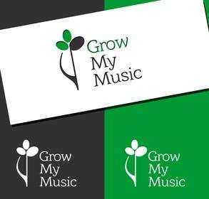 "#68 untuk Design a Logo for ""Grow my Music"" - a music education business oleh Huelevel"