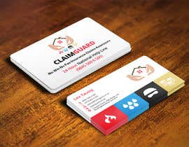 #30 untuk Design some Business Cards for Claimguard oleh mohanedmagdii