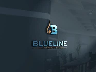 #126 untuk Design a Logo for Blueline Plumbing & Gas oleh kalilinux71