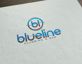 #123 for Design a Logo for Blueline Plumbing & Gas by FutureArtFactory