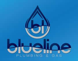 #156 for Design a Logo for Blueline Plumbing & Gas by FutureArtFactory
