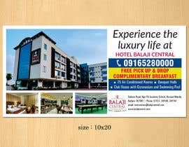 #10 untuk Design an Advertisement for  my Hotel oleh dinesh0805