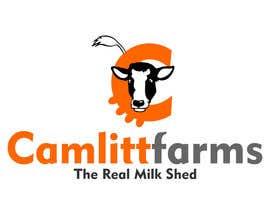 joelsonsax tarafından Design a Logo for Camlitt Farms - The Real Milk Shed için no 19