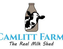 #46 for Design a Logo for Camlitt Farms - The Real Milk Shed by asikata