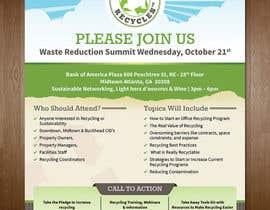 dsquarestudio tarafından Atlanta Recycles Summit için no 3
