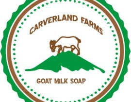 #12 untuk Design a Logo for Carverland Farms Goat Milk Soap oleh szamnet