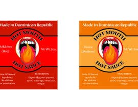 #3 untuk Create a label design for hot sauce bottle oleh baroque90