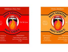 #6 untuk Create a label design for hot sauce bottle oleh baroque90