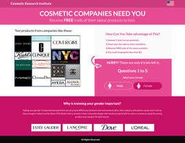 #54 untuk Design a Website Mockup for Cosmetic Research Institute oleh omwebdeveloper