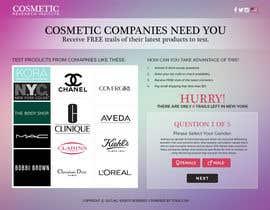 #37 untuk Design a Website Mockup for Cosmetic Research Institute oleh creativeideas83