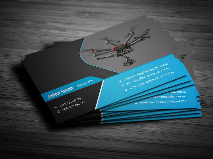 Entry #7 by ashanurzaman for Design some Business Cards for UAV ...
