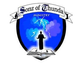 #11 para Design a Logo for Sonz of Thunda por ELNADEJAGER
