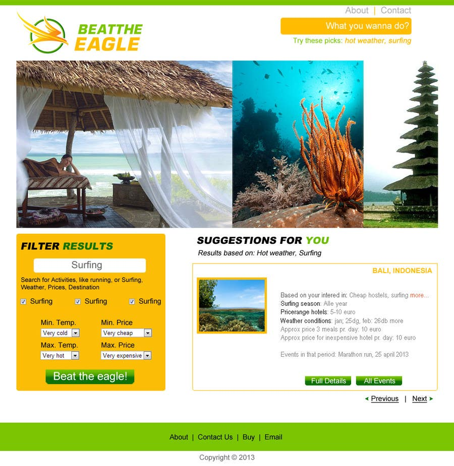 #8 for Change / create design for website by raidmaxdesigns