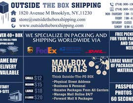 #21 for FLYER DESIGN: Shipping Store Services with Coupons by MooN5729