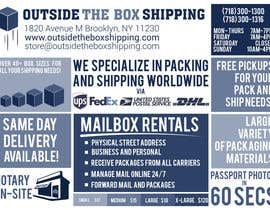 #1 for FLYER DESIGN: Shipping Store Services with Coupons by biejonathan