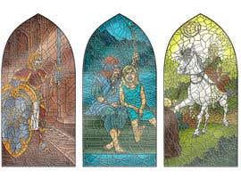 ajvdw tarafından Fantasy illustration: stained glass windows için no 14