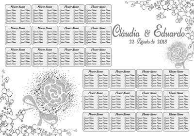 #5 untuk Wedding table board oleh lavdas215