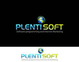 #596 pentru Logo Design for Plentisoft - $490 to be WON! de către wdmalinda