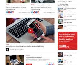 #11 untuk Design a Website Mockup and Logo oleh syrwebdevelopmen
