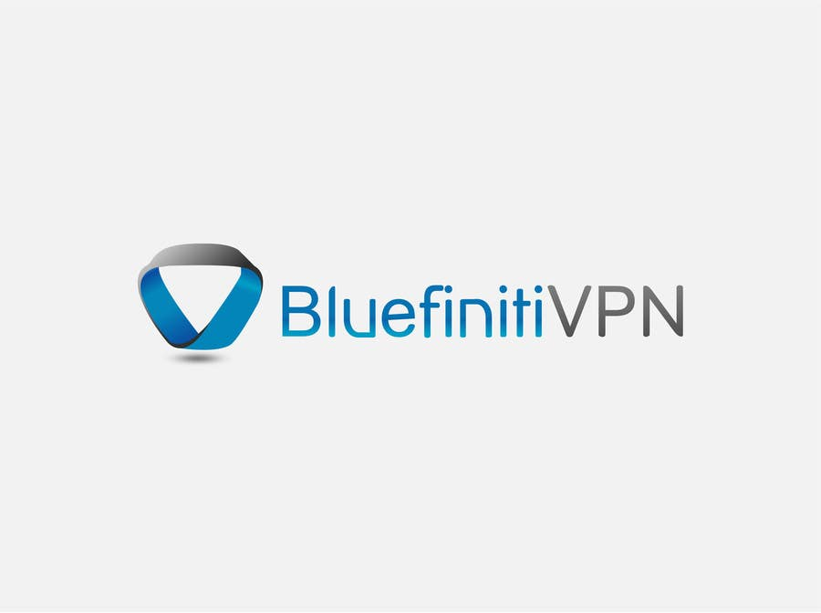 #128 for Design a Logo for BluefinitiVPN by texture605