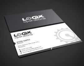 #23 untuk Design a sleek business card for Logix Operations oleh dnoman20