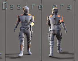 DesireEra tarafından Simple Model of a Futuristic Roman Soldier for a Mobile Unity3D Game için no 1