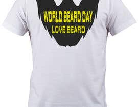 adobe07 tarafından Design World Beard Day Themed T-Shirt için no 31