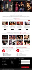 dimplesharma28ma tarafından Design a Website Mockup for an online institute için no 13