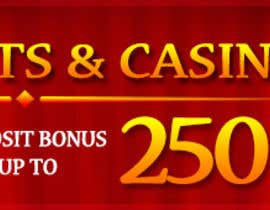 #4 untuk Design a Banner for Casino & Sportbook Bonus oleh designzforworld