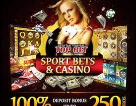 #9 untuk Design a Banner for Casino & Sportbook Bonus oleh designzforworld