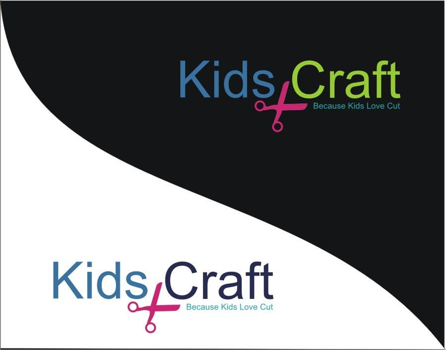 #55 for Kids craft site n logo by fitasari