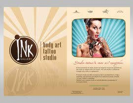 nº 7 pour Design a Flyer for Ink Gallery par luvephotowork