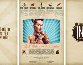 catalins tarafından Design a Flyer for Ink Gallery için no 3