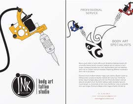#2 for Design a Flyer for Ink Gallery by SimonMerritt