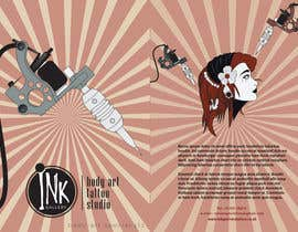 nº 5 pour Design a Flyer for Ink Gallery par SimonMerritt