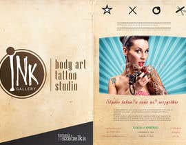 nº 6 pour Design a Flyer for Ink Gallery par SimonMerritt