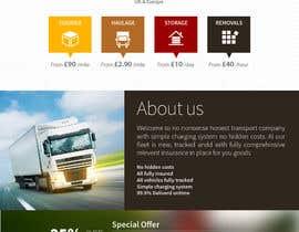 #16 untuk Design a Website Mockup Must be user friendly 1 page fun site for tranport company oleh sabdulghani